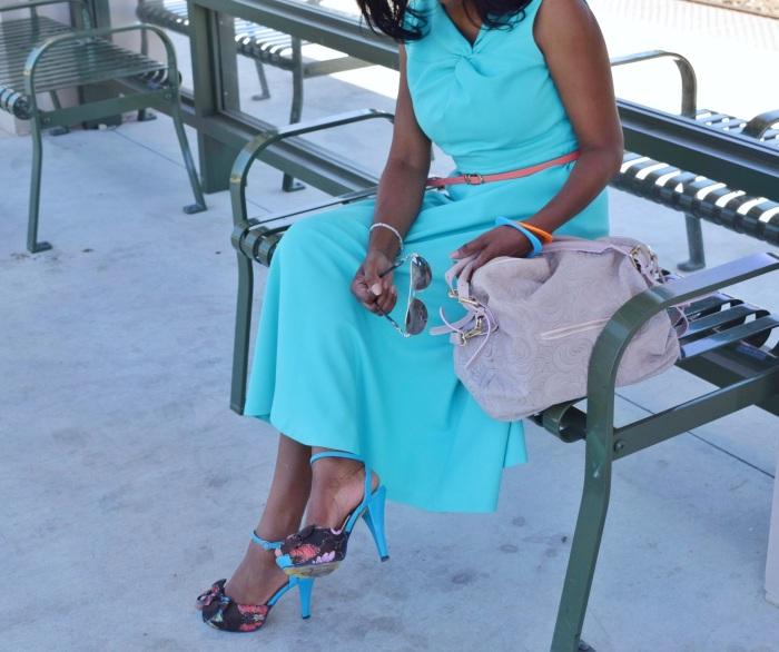 Blue dress 3
