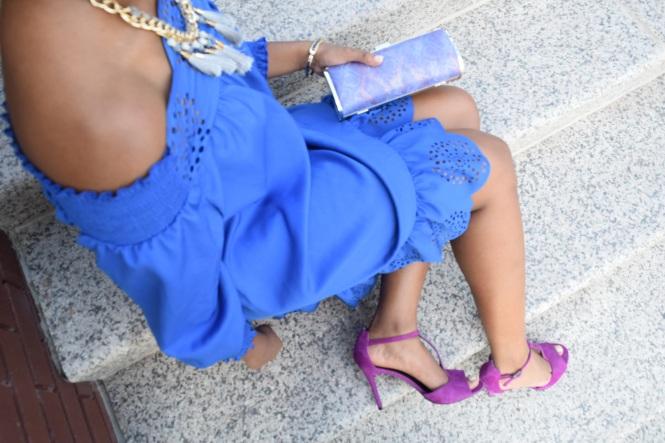 Off the shoulder fashion trend