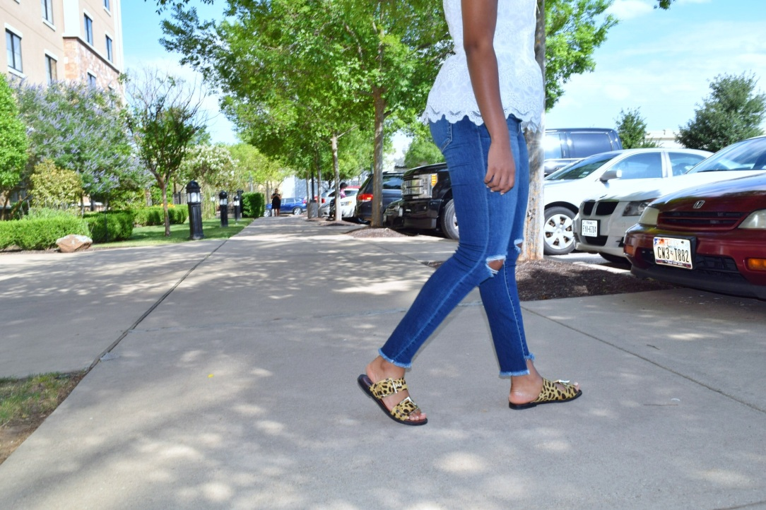 Step hem jeans
